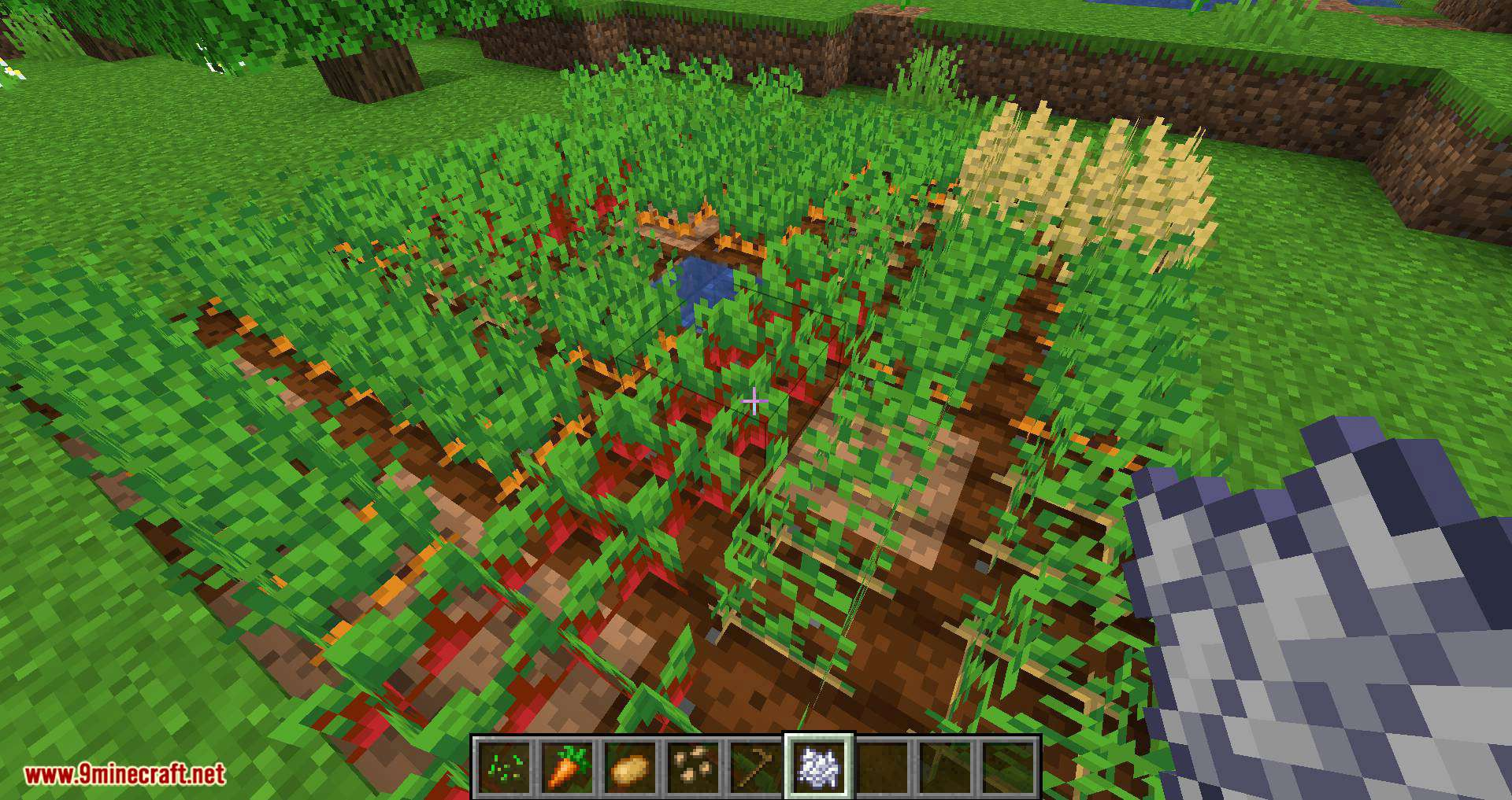 Replanting Crops mod for minecraft 04