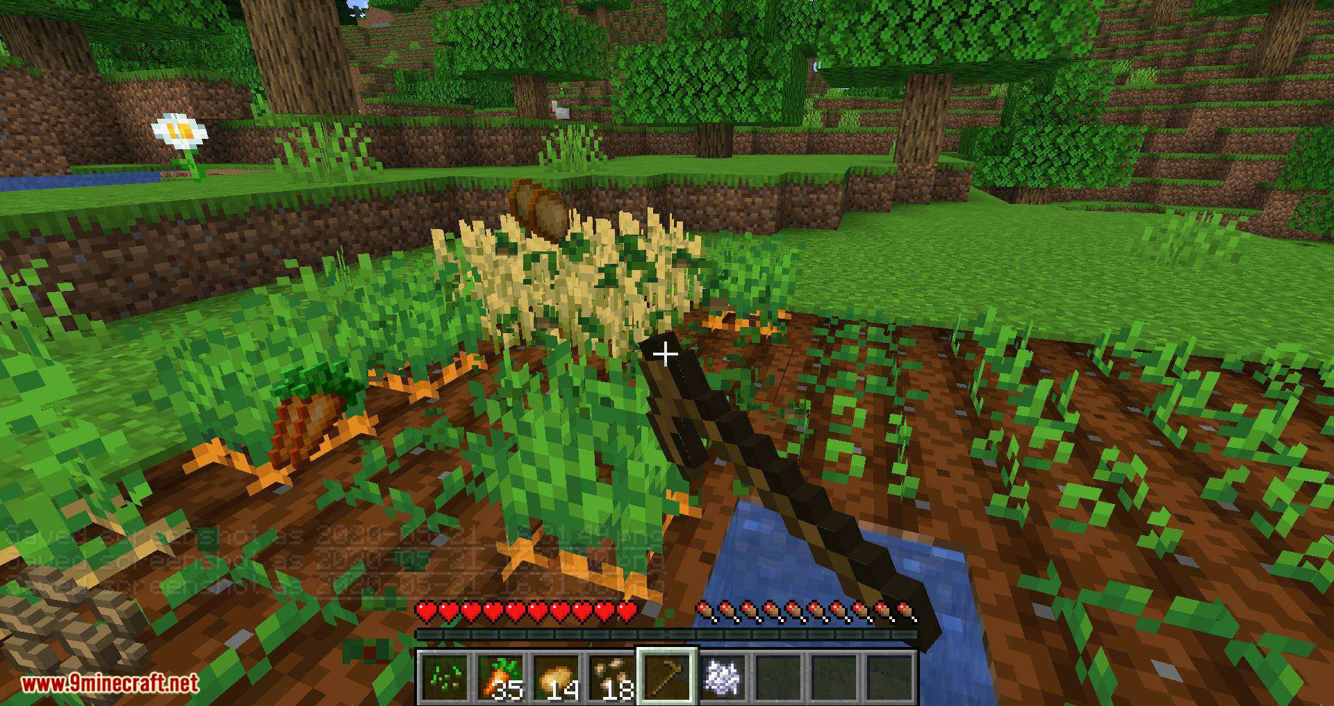 Replanting Crops mod for minecraft 12