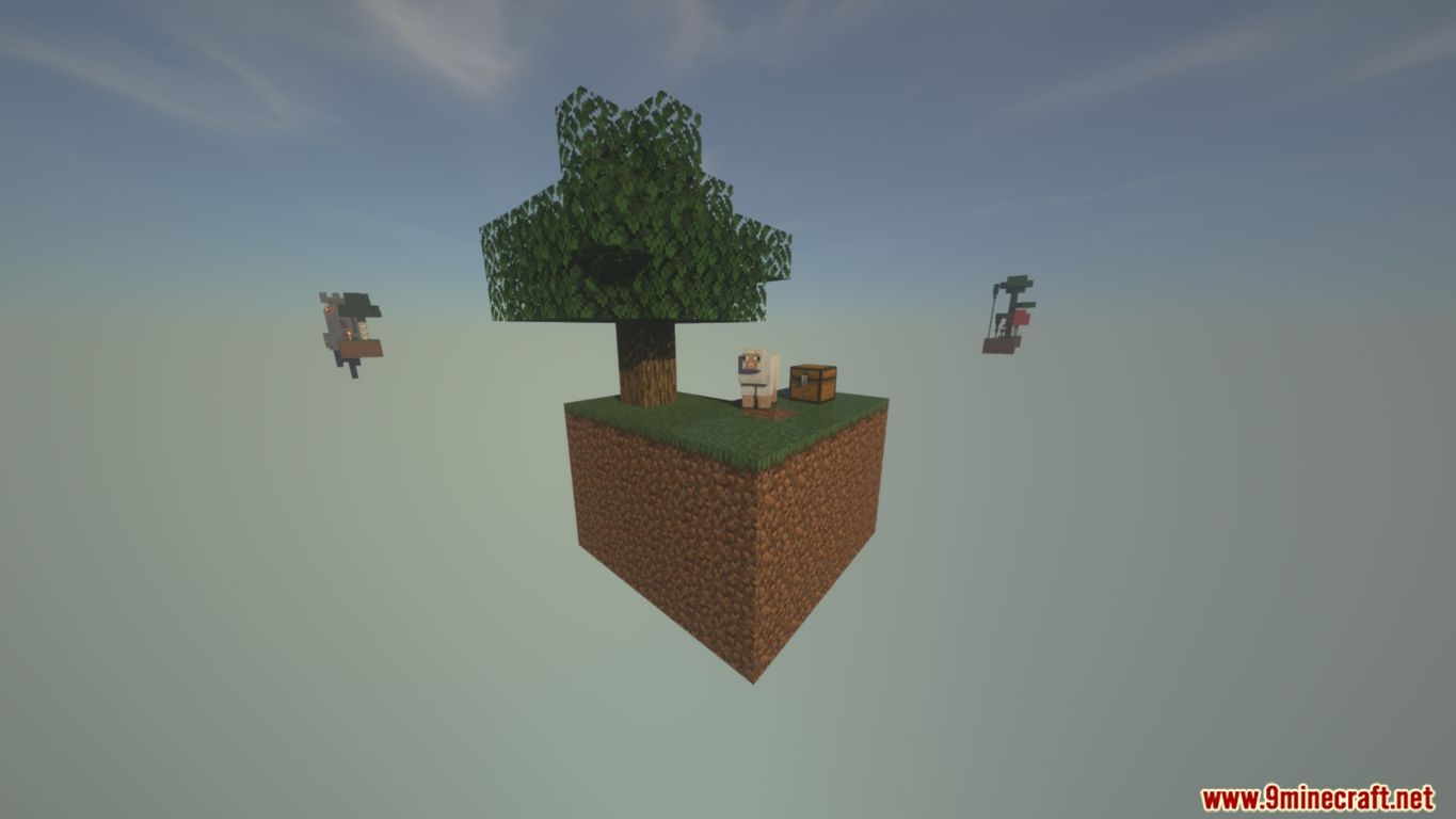 SkyBlock Biomes Map Screenshots (1)