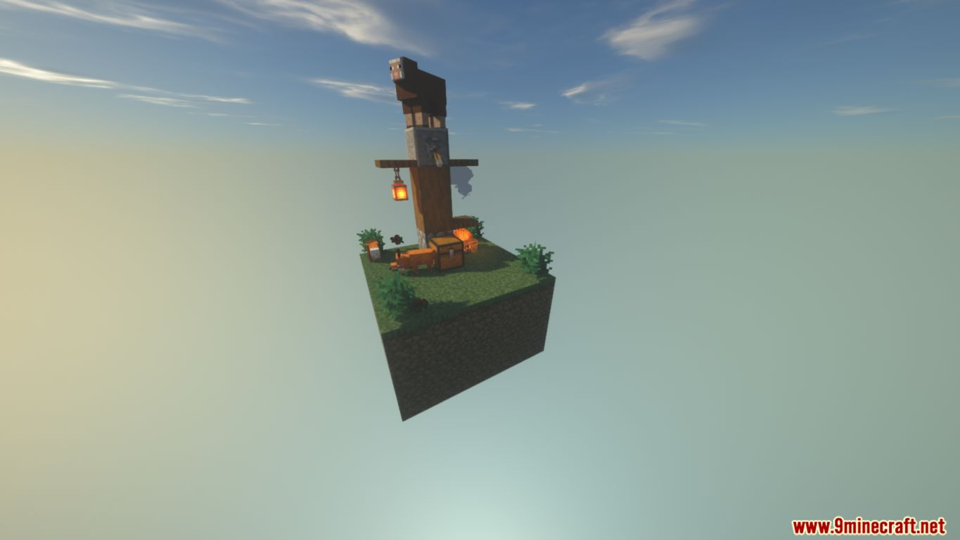 SkyBlock Biomes Map Screenshots (5)