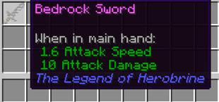 The Legend of Herobrine mod for minecraft 21