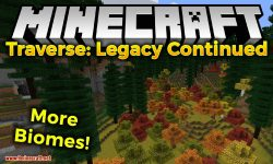Traverse Legacy Continued mod for minecraft logo