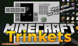 Trinkets (Fabric) mod for minecraft logo