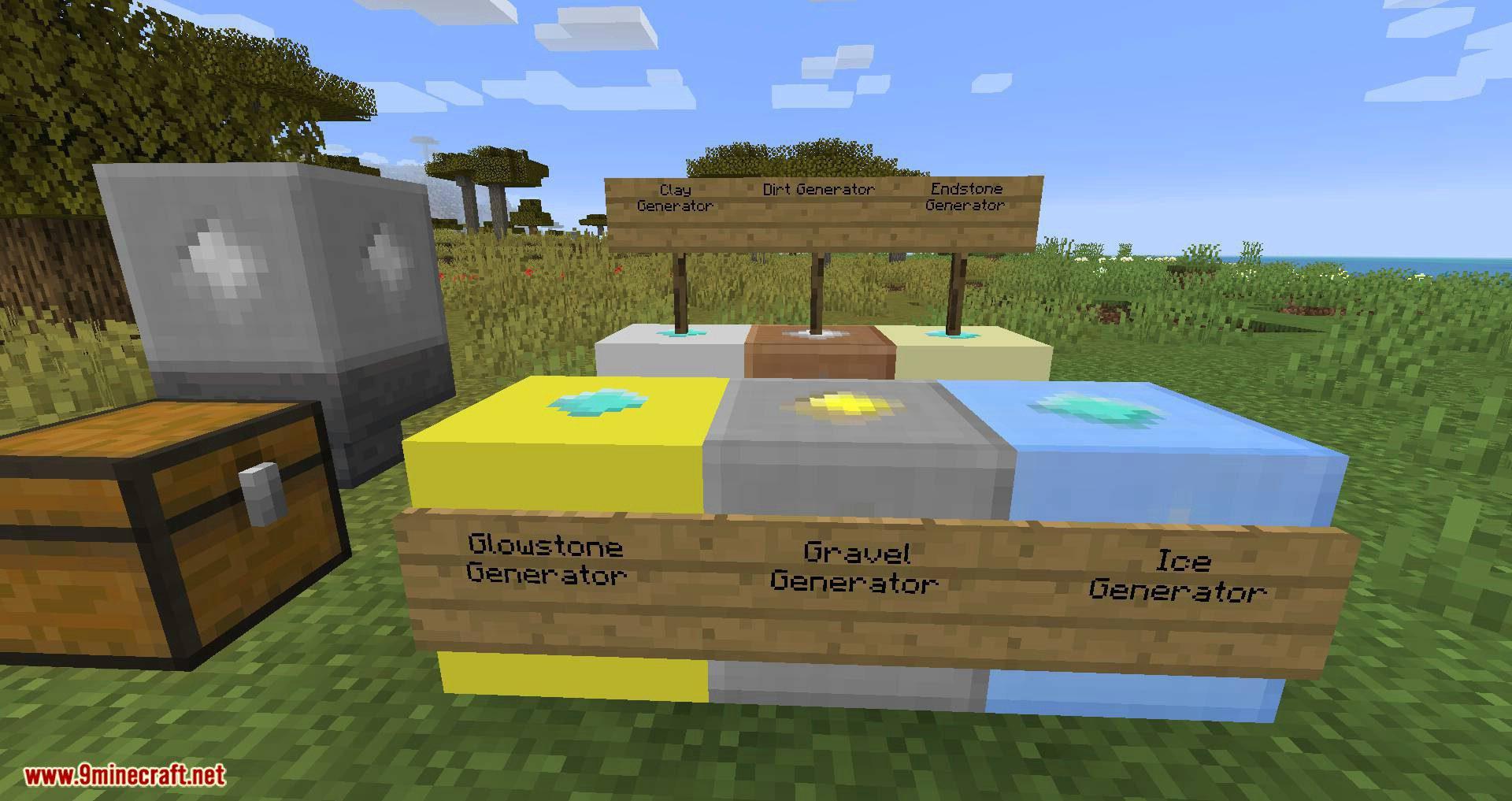 Ultimate Skyblock Resource Generator mod for minecraft 07