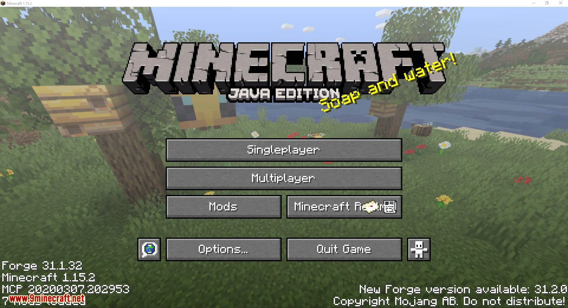 Custom Window Title mod for minecraft 01