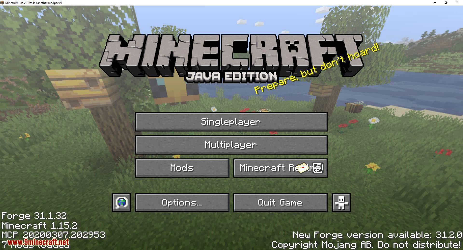 Custom Window Title mod for minecraft 04