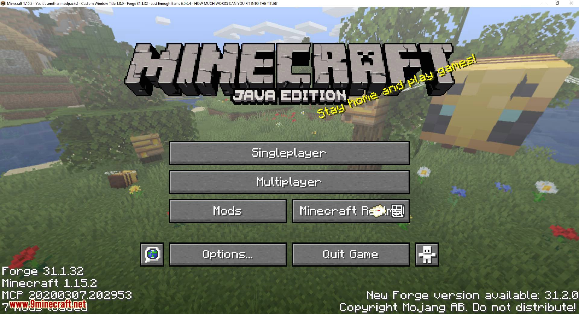 Custom Window Title mod for minecraft 10