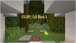 ESCAPE Cell Block X Map Thumbnail