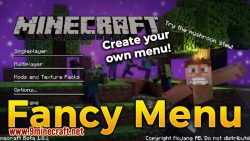 FancyMenu mod for minecraft logo