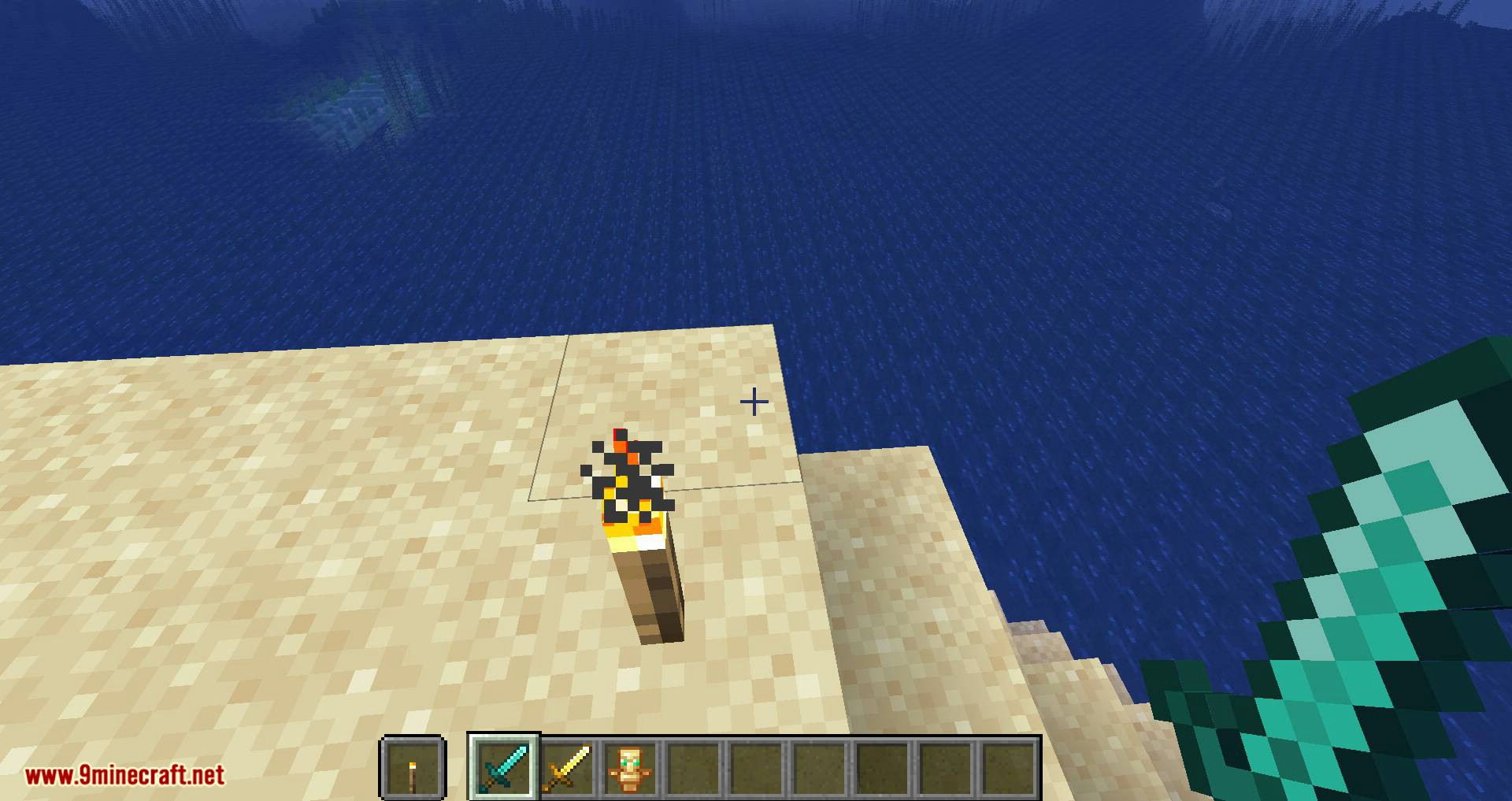 Hide Hands mod for minecraft 09