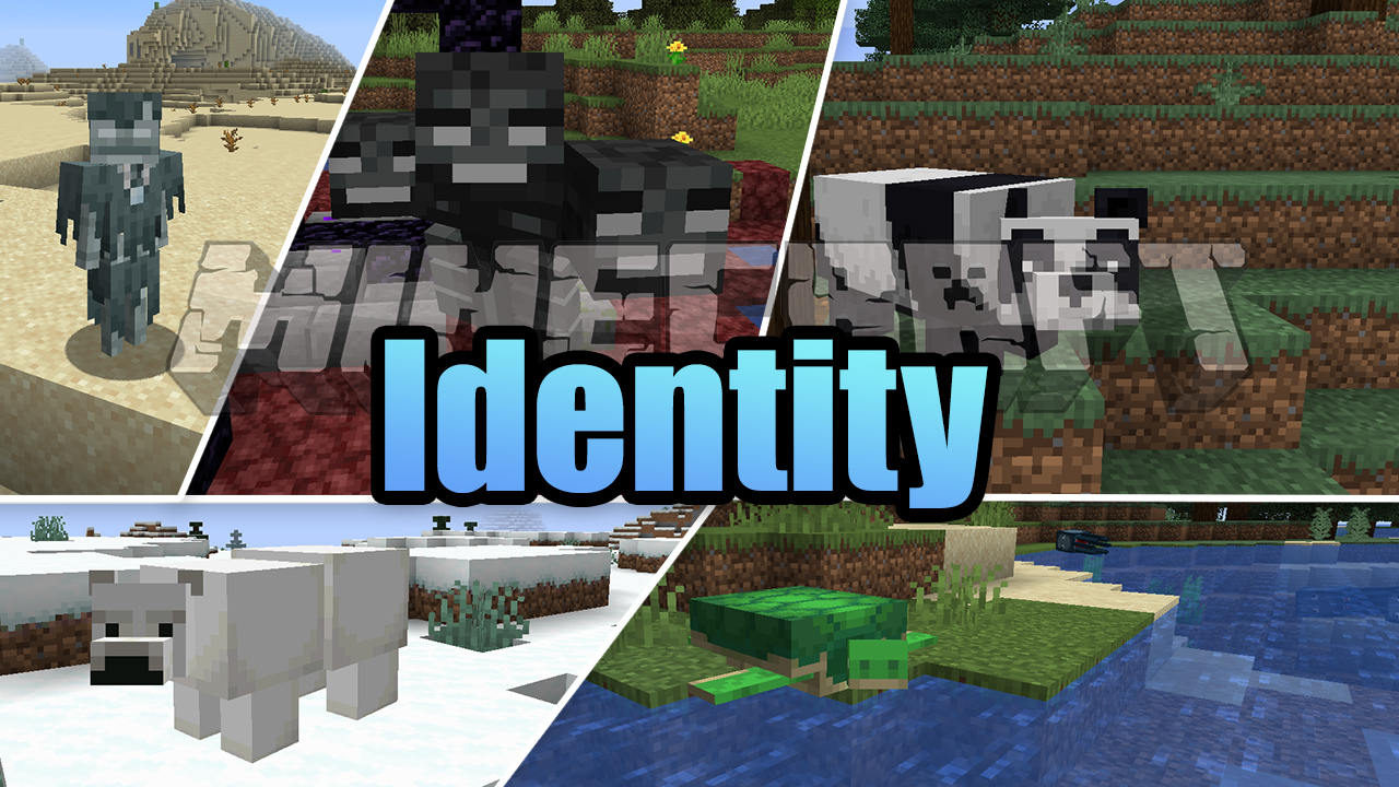 Identity Mod 1 16 1 Mobs Morphing Lurkit