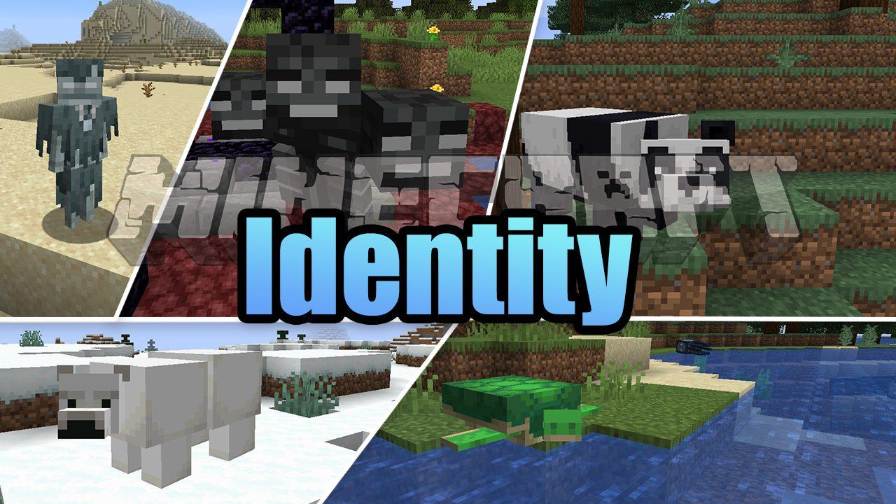 Identity Mod 1 17/1 16 5 (Mobs Morphing) 9Minecraft Net