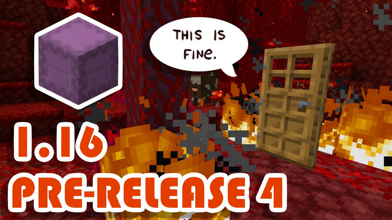Minecraft 1.16 Pre-Release 4