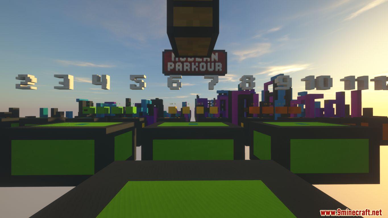 Modern Parkour Map Screenshots (1)