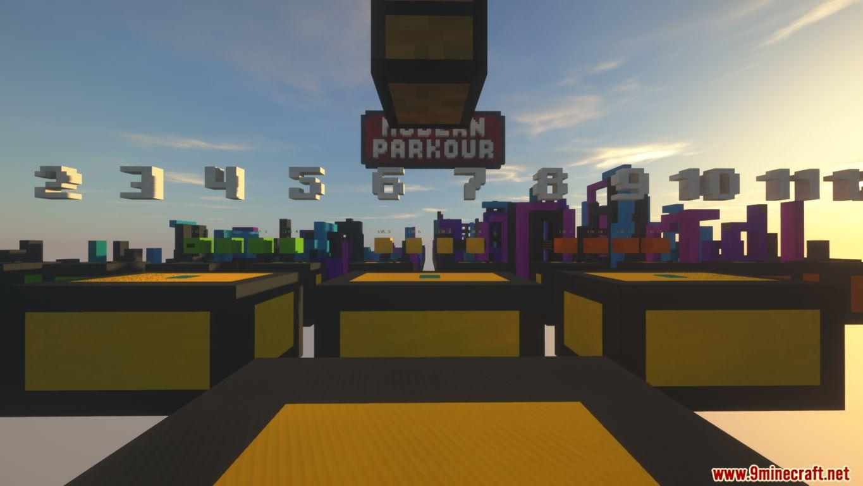 Modern Parkour Map Screenshots (2)