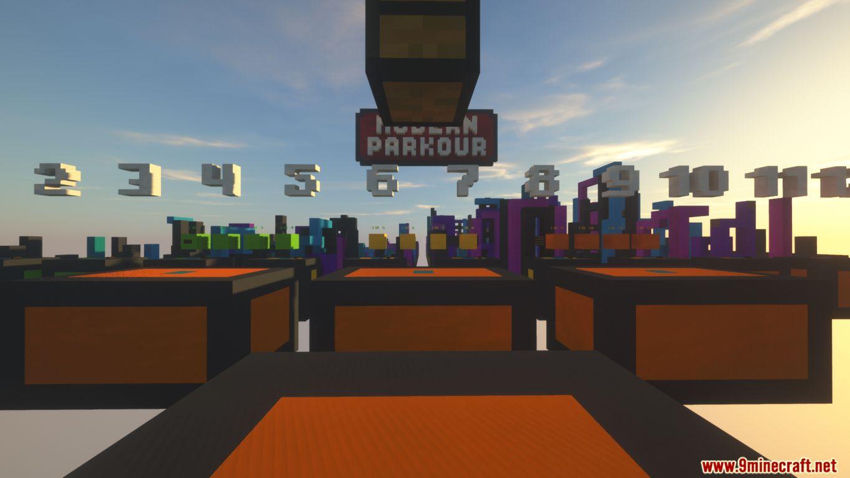 Modern Parkour Map Screenshots (3)