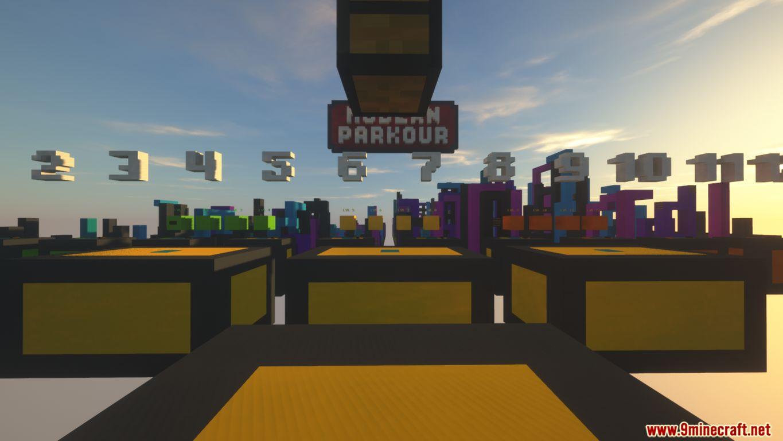 Modern Parkour Map Screenshots (4)