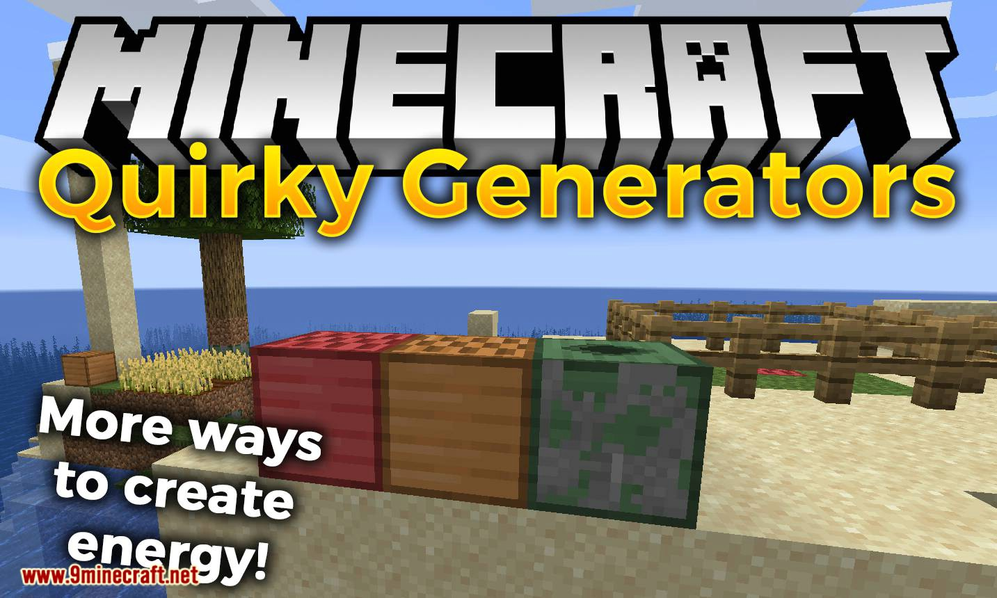 Quirky Generators mod for minecraft logo