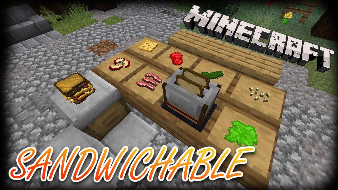 Sandwichable Mod 1 16 2 1 15 2 Unique Food System Making Sandwiches 9minecraft Net