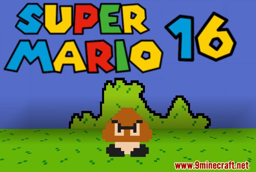 Super Mario 16 Map Thumbnail