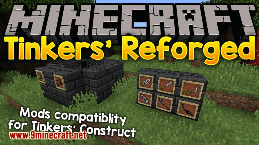 Tinkers_ Reforged mod for minecraft logo