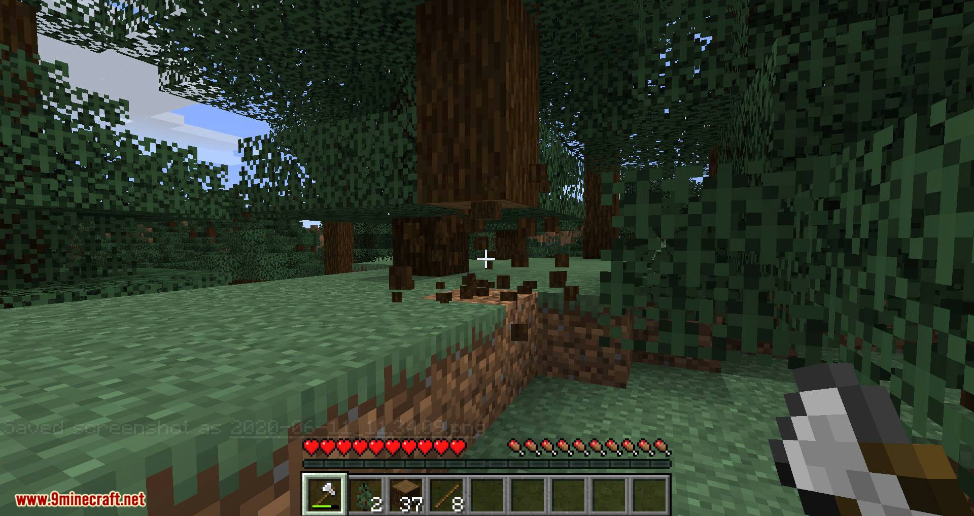 Tree Harvester mod for minecraft 02