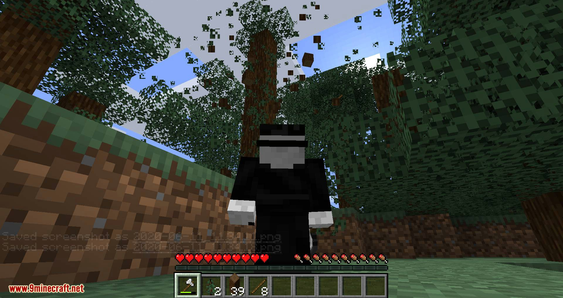 Tree Harvester mod for minecraft 04
