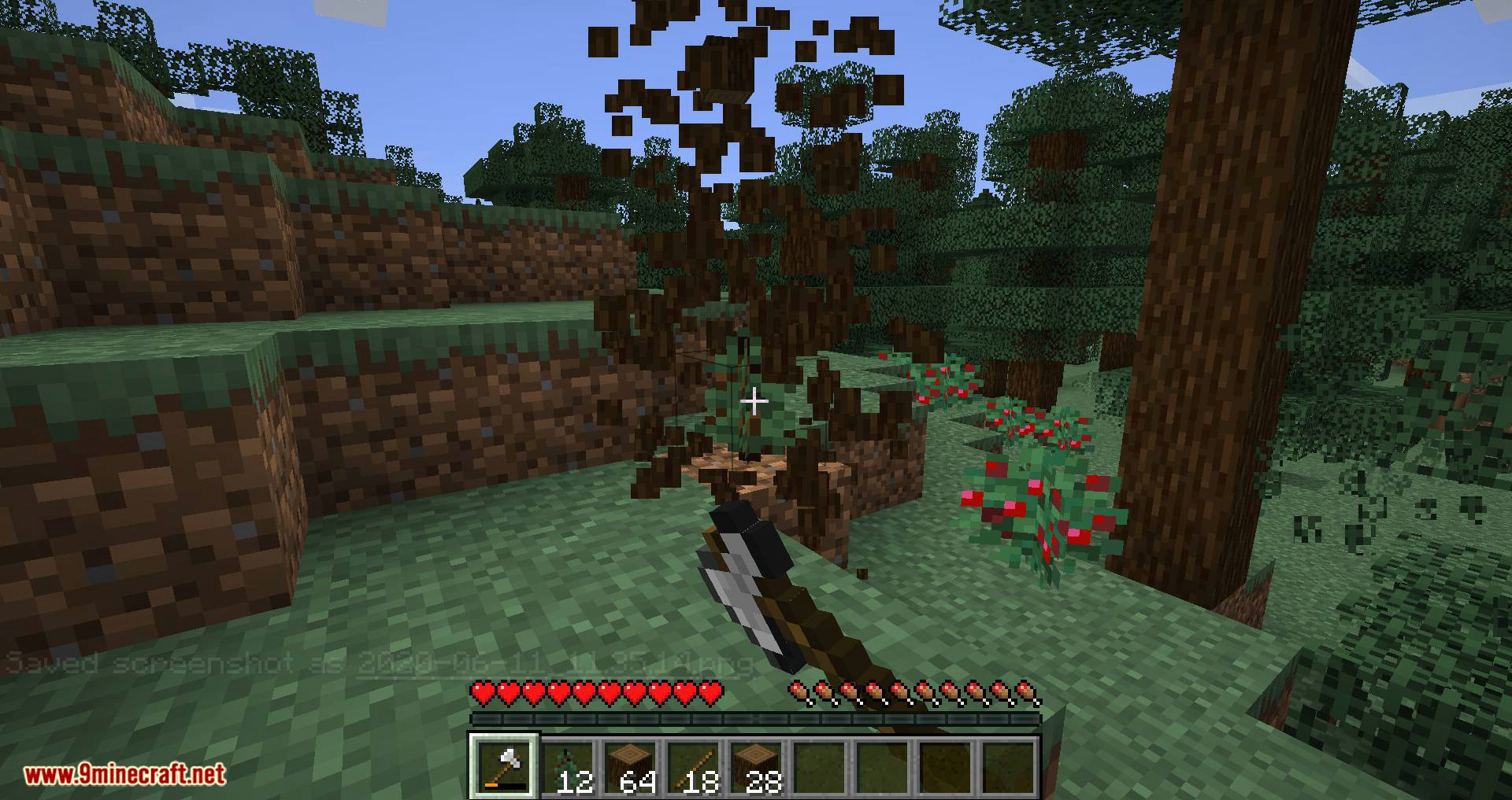 Tree Harvester mod for minecraft 09