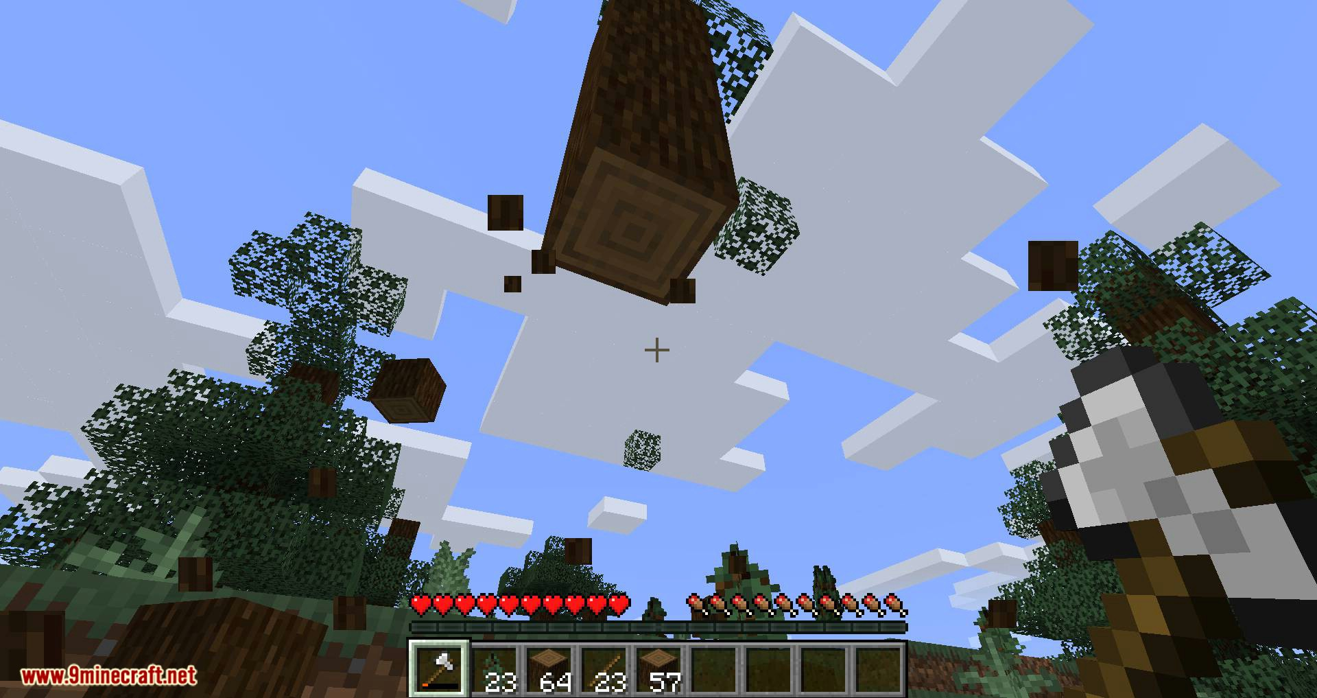 Tree Harvester mod for minecraft 10