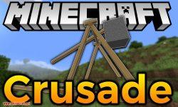 Crusade mod for minecraft logo