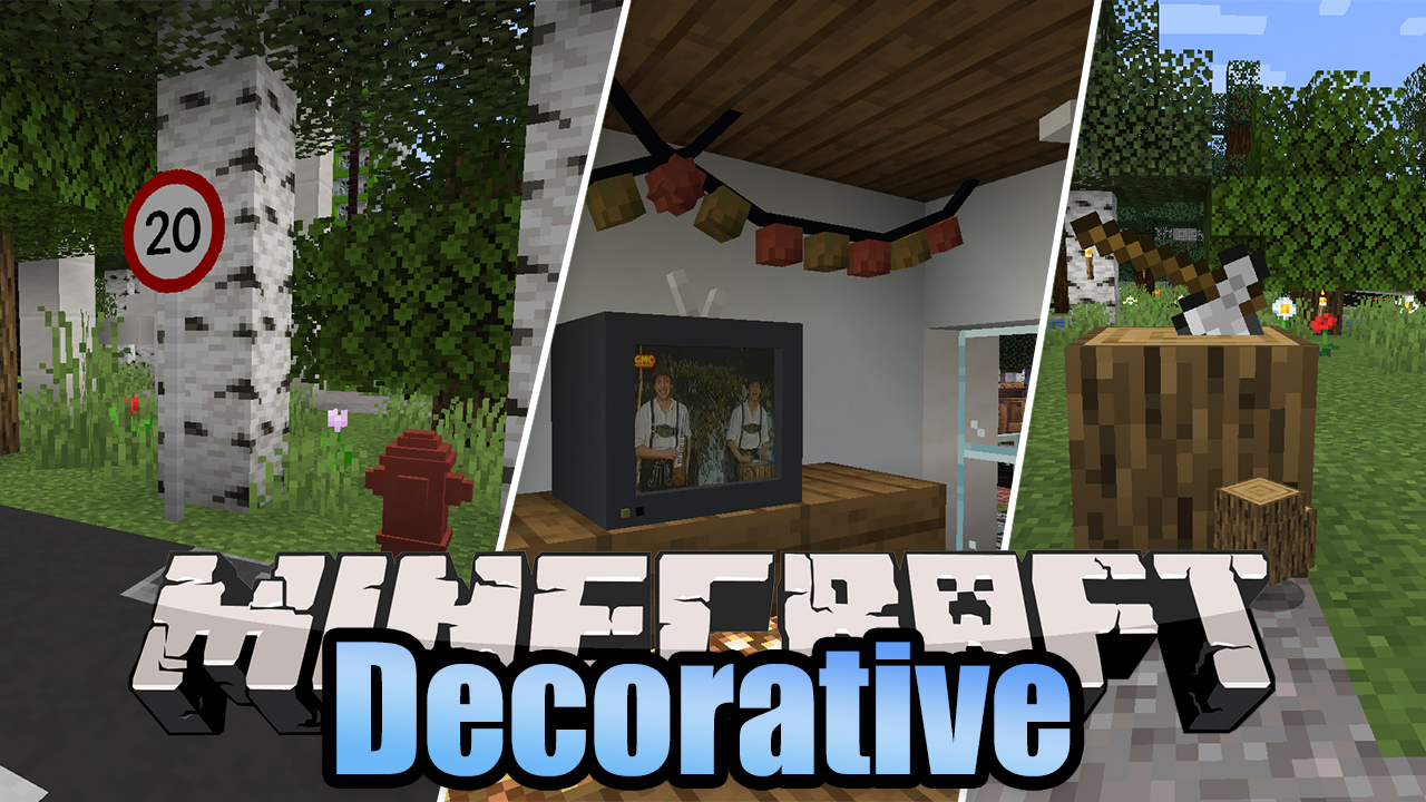 Decorative Mod 9.96.9/9.99.9 (New Decorations for your World