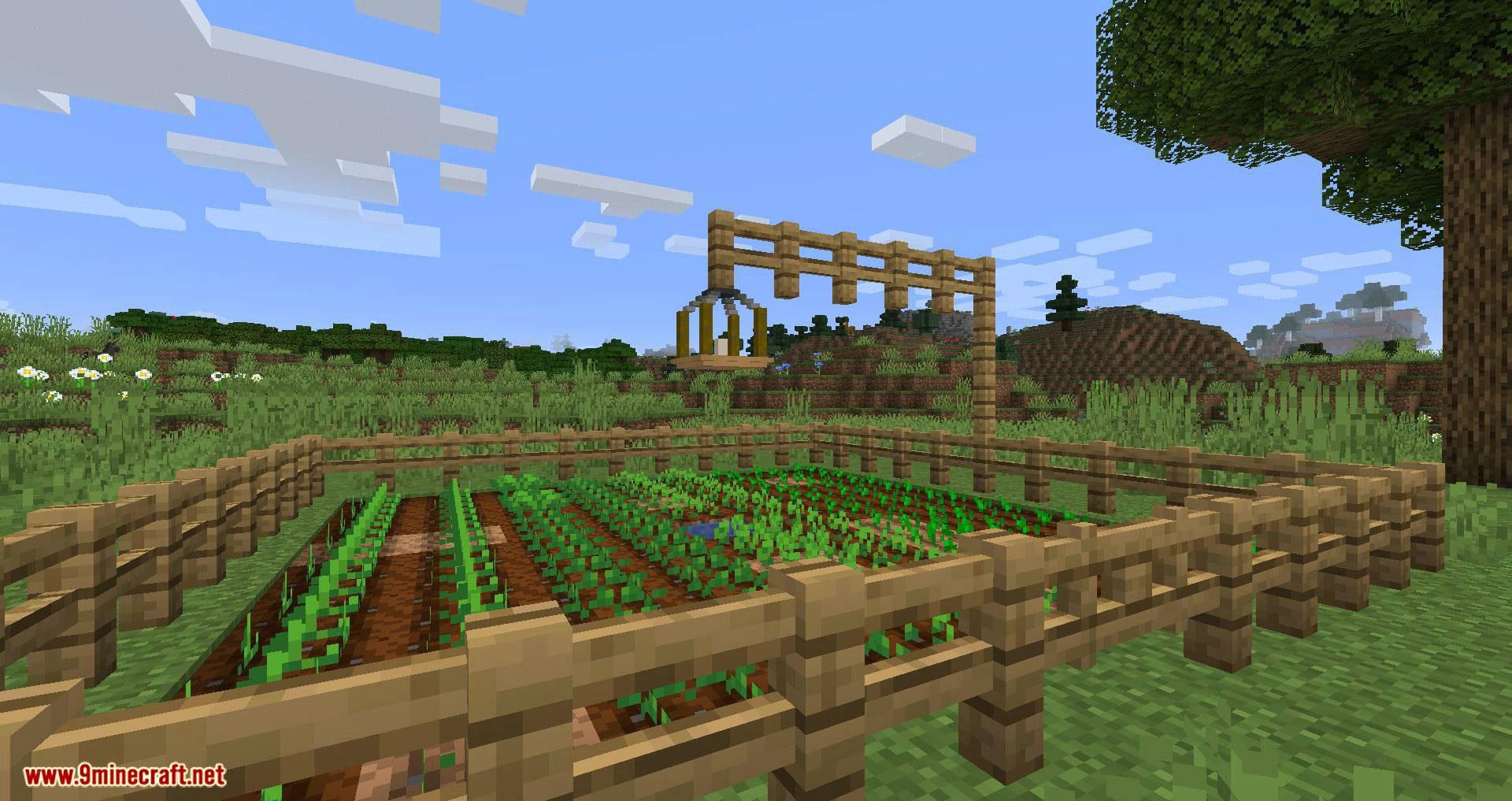 Harvest Sprites mod for minecraft 01