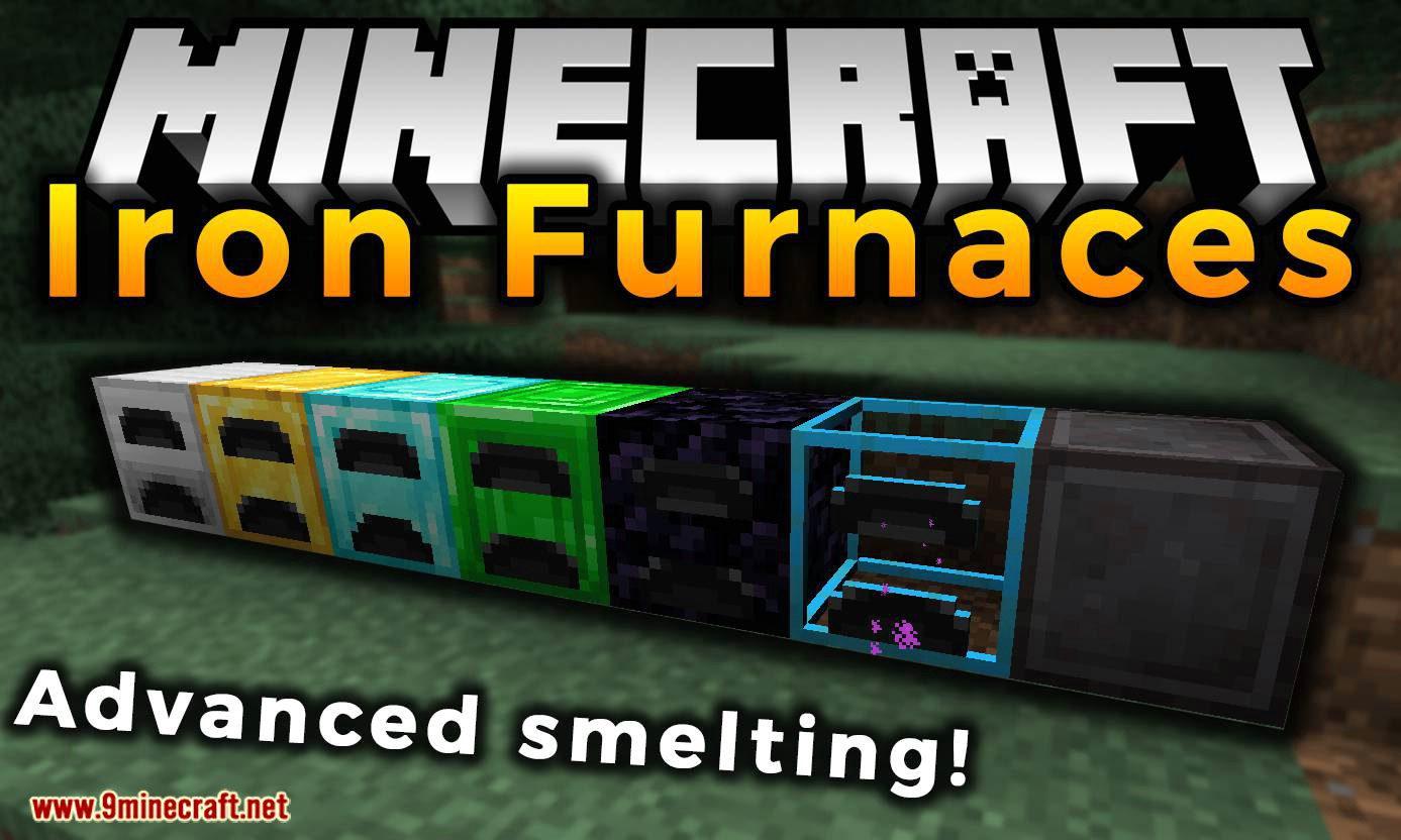 Iron Furnaces mod for minecraft logo