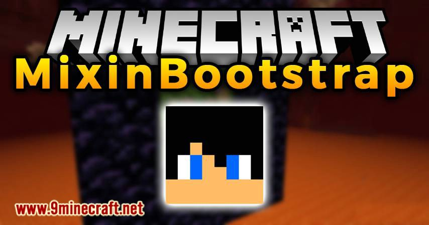 MixinBootstrap mod for minecraft logo