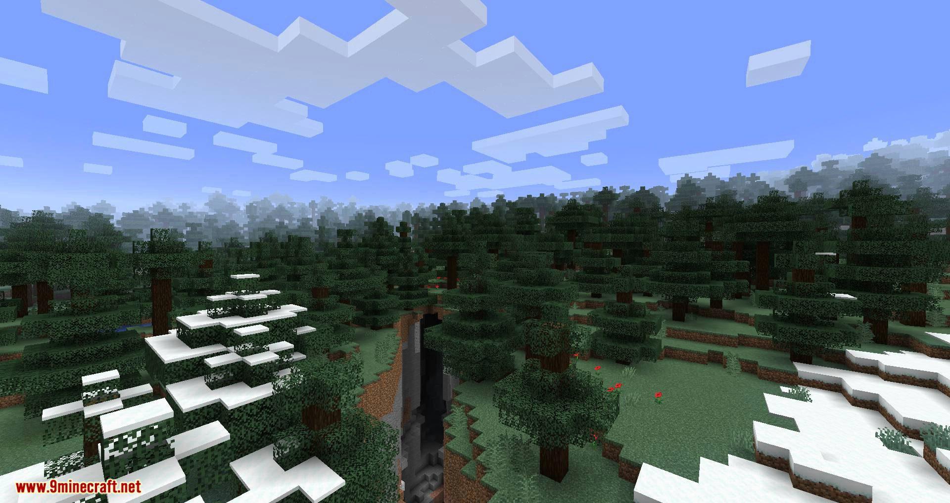Simplex Terrain mod for minecraft 04
