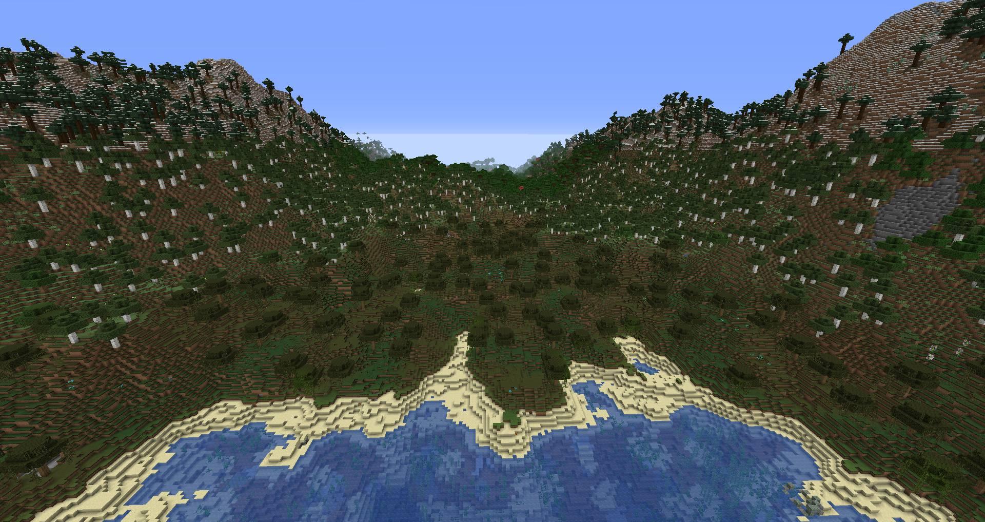 Simplex Terrain mod for minecraft 21