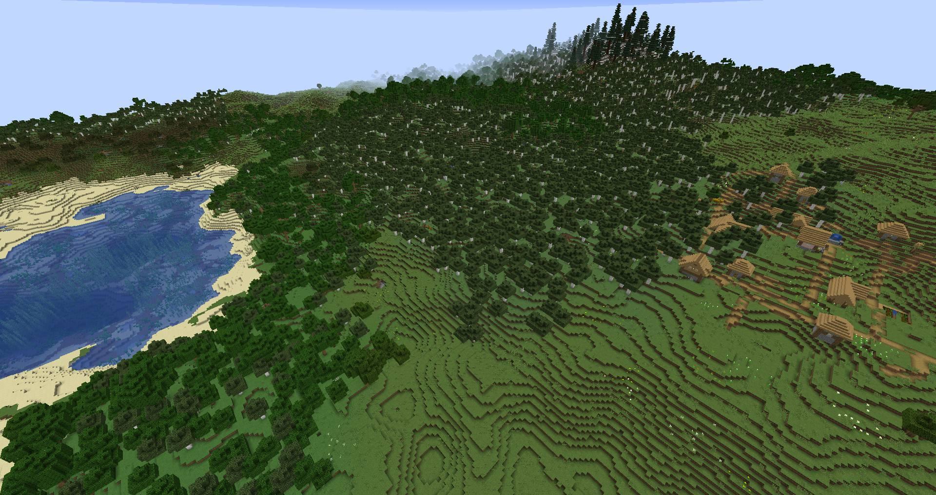 Simplex Terrain mod for minecraft 23