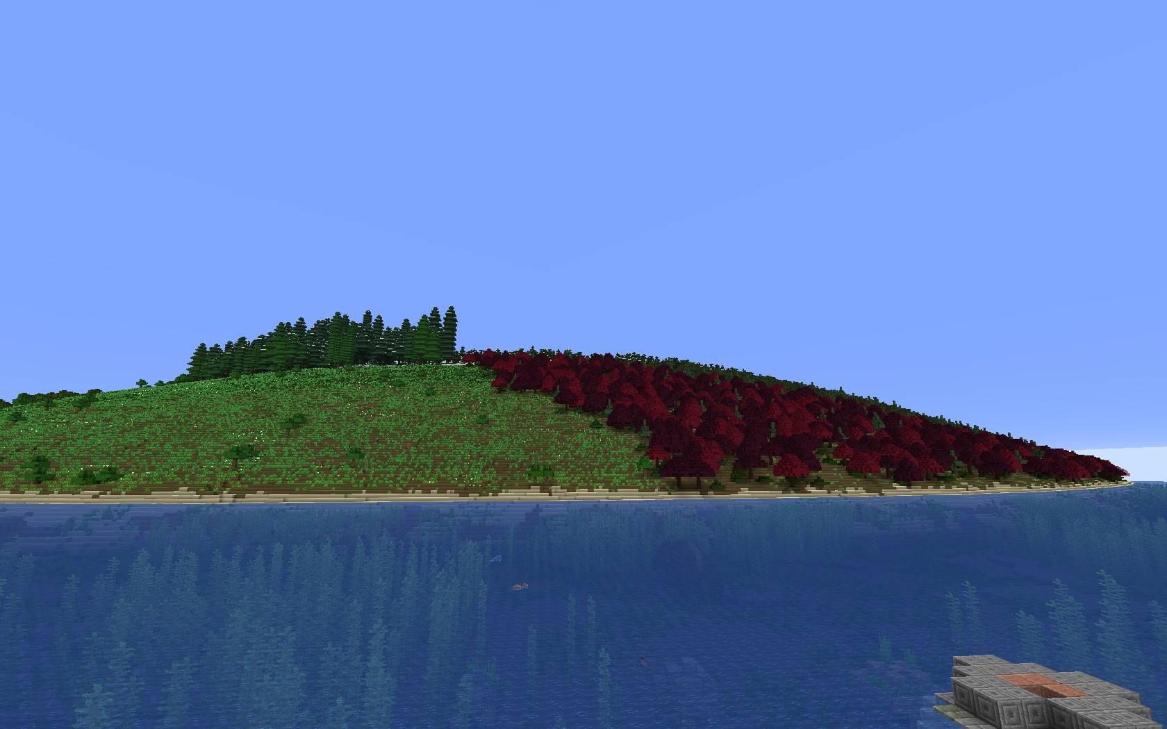 Simplex Terrain mod for minecraft 26