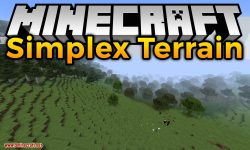Simplex Terrain mod for minecraft logo