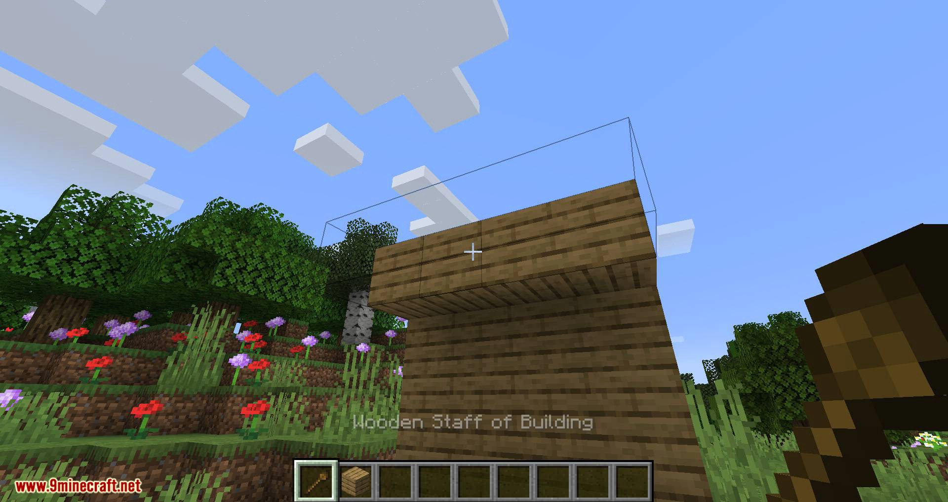 Staff of Building mod for minecraft 05