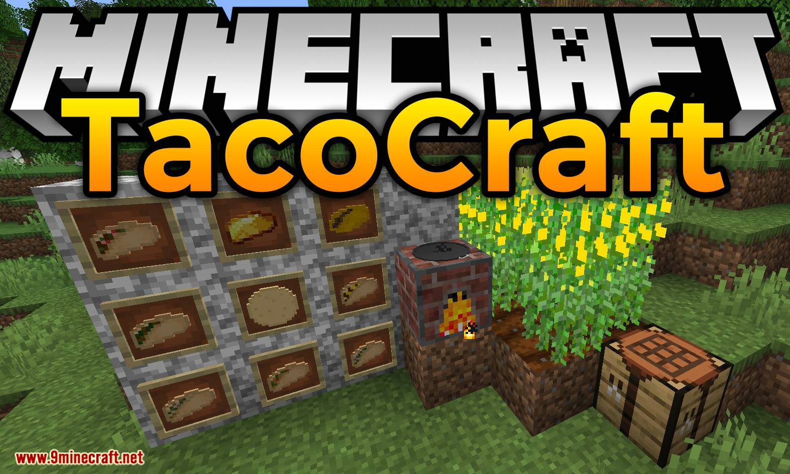 TacoCraft mod for minecraft logo