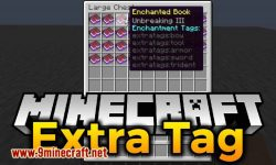 extra tag mod for minecraft logo