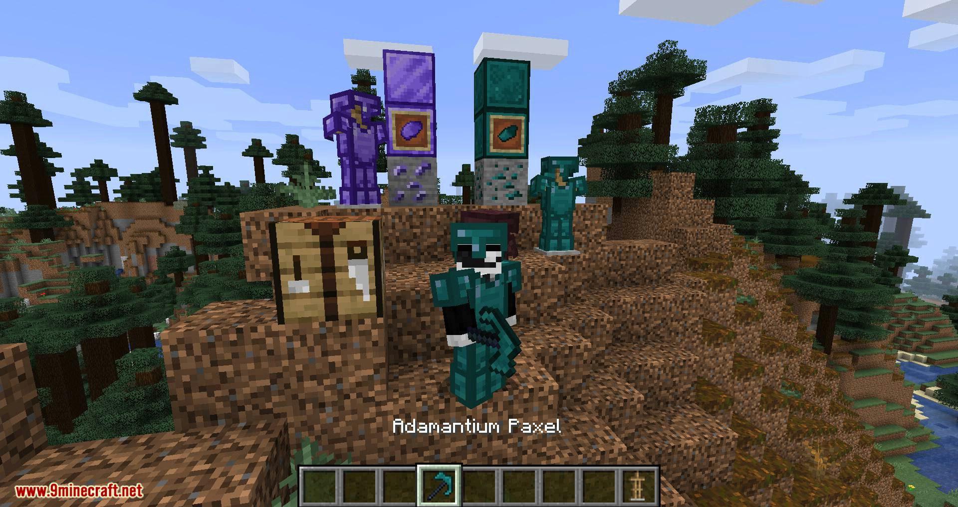 Adabranium mod for minecraft 08