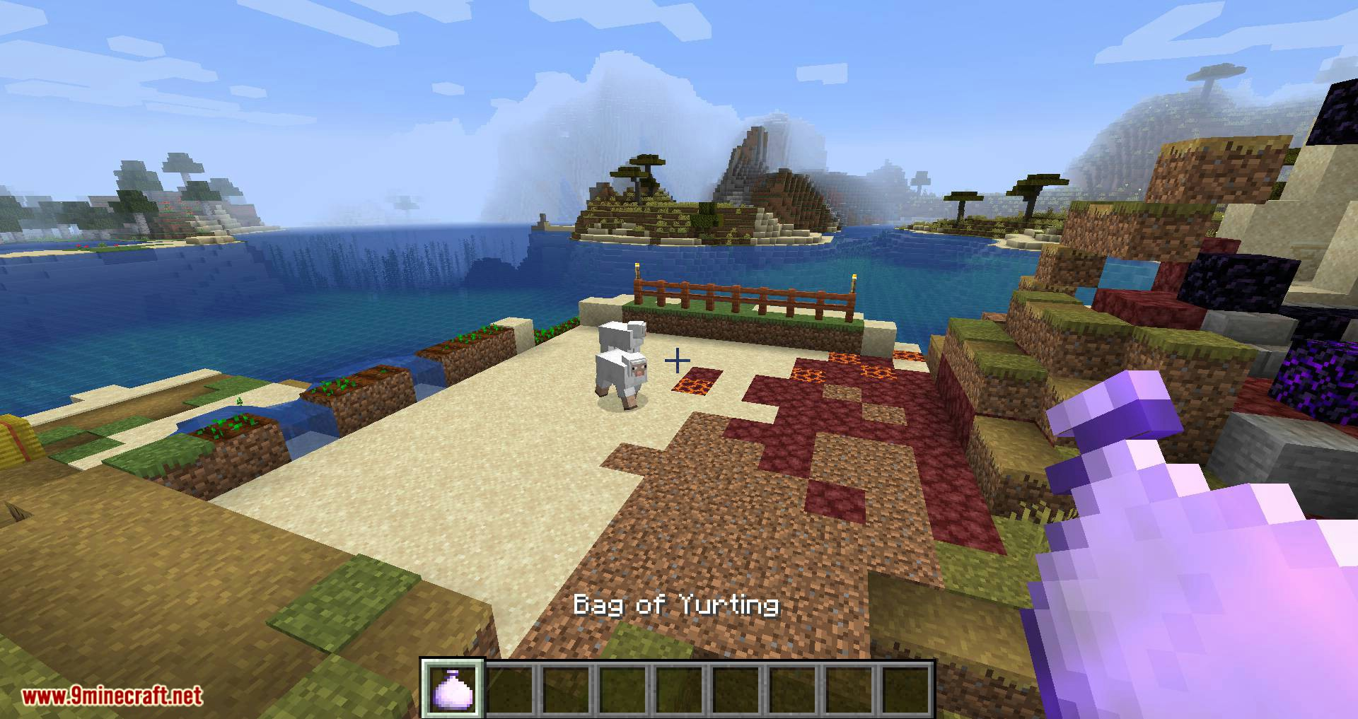 Bag of Yurting mod for minecraft 12