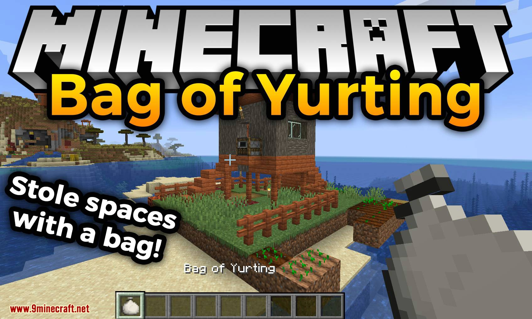 Bag of Yurting mod for minecraft logo