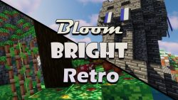Bloom, Bright and Retro Resource Pack
