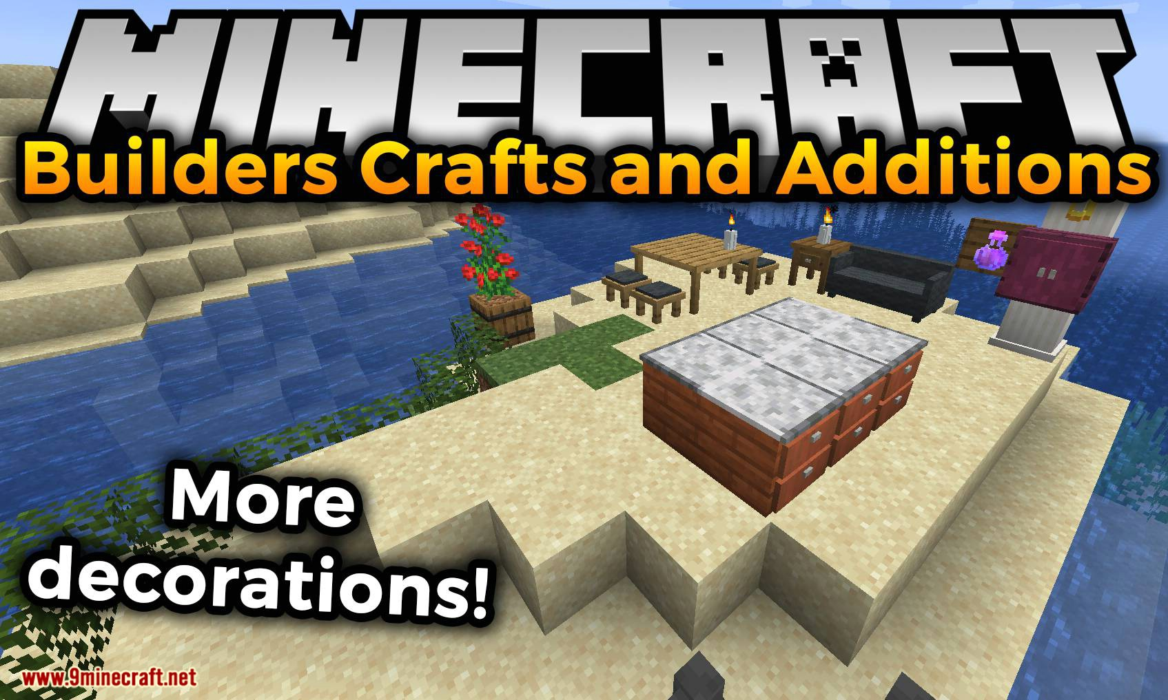 Builders Crafts Additions Mod 1 16 5 1 16 2 Too Many Decorations 9minecraft Net
