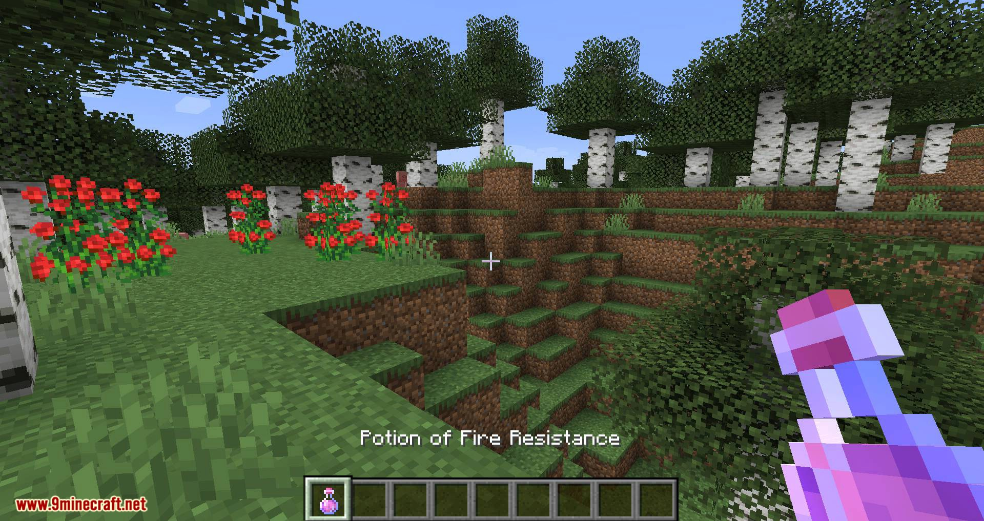 Compact Status Effects mod for minecraft 01
