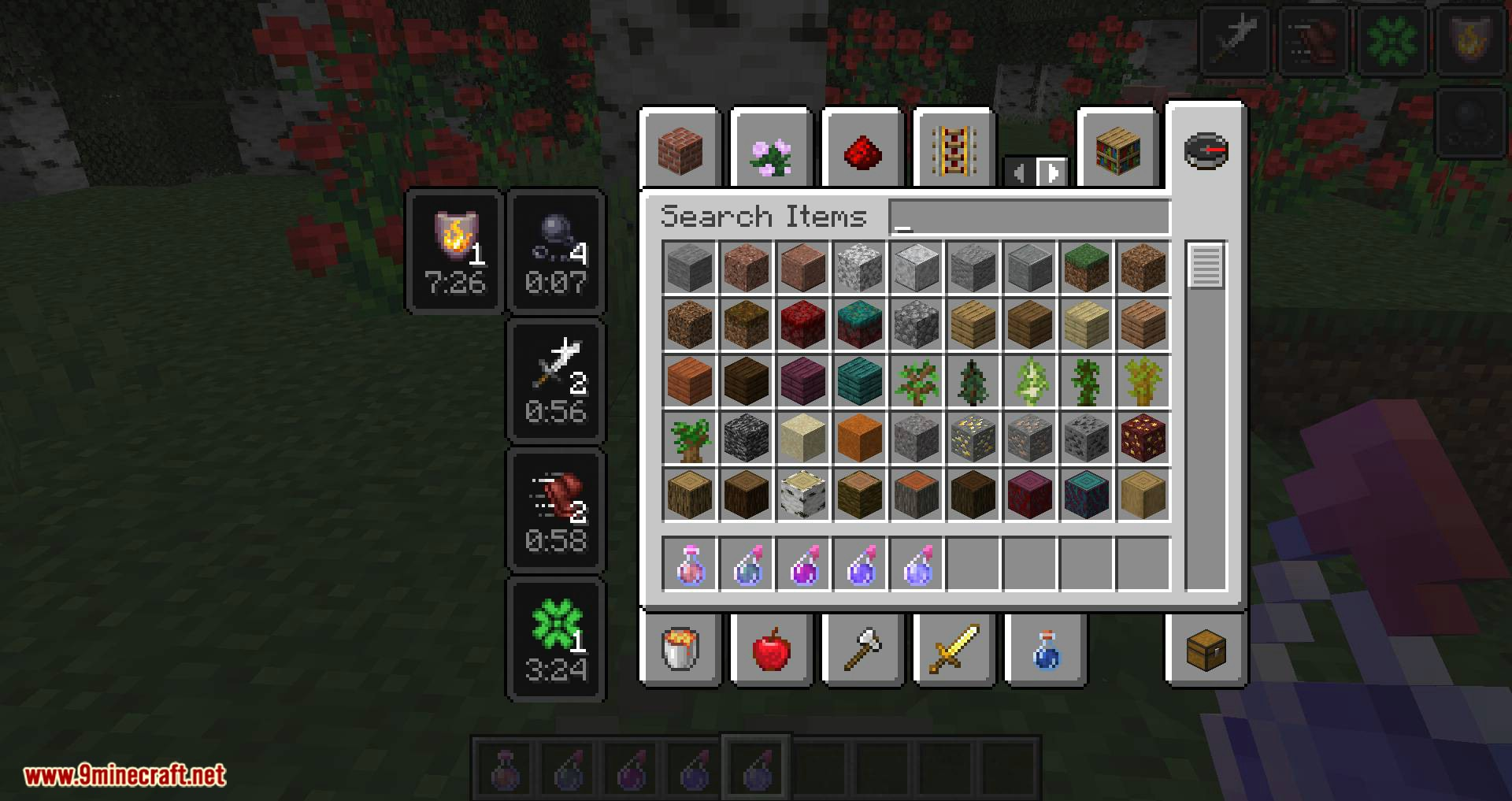 Compact Status Effects mod for minecraft 05