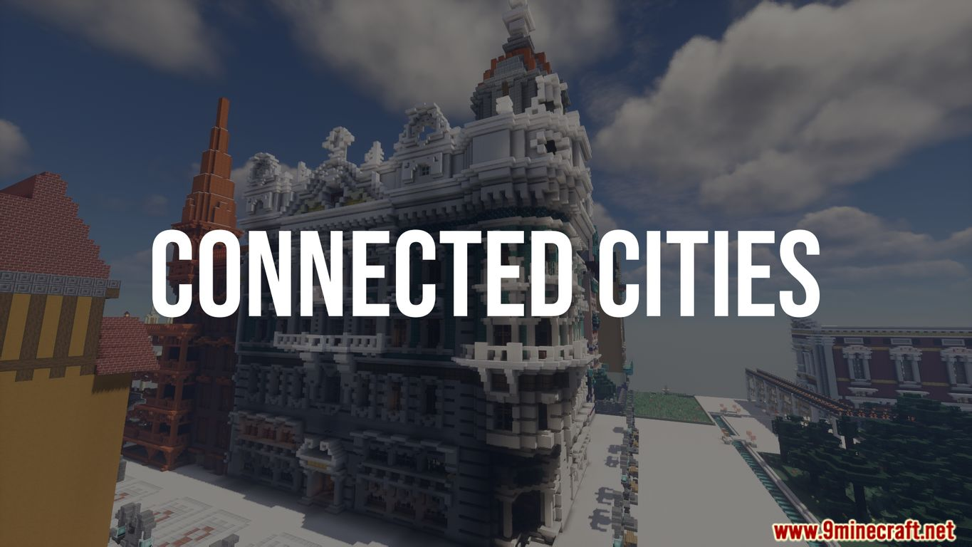 Connected Cities Map Thumbnail